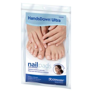 Graham Professional HandsDown Ultra Nail Pads