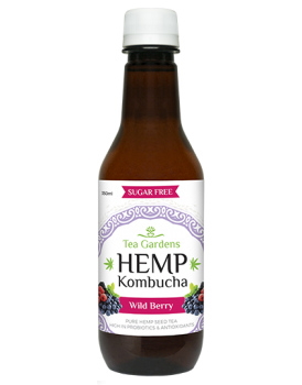 Hemp Kombucha Wild Berry [48 bottles]  350ml