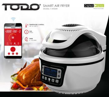 Smart Air Fryer 10L Electric Convection Oven Android Iphone App Control