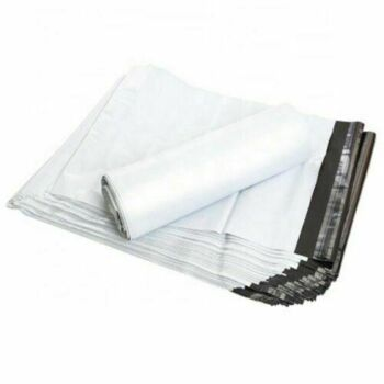 100 pcs 255 x 330mm Poly Mailer Plastic Satchel Courier Self Sealing Shipping Bag