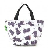 Eco Chic White Scatty Scotty Dog Lunch Bag