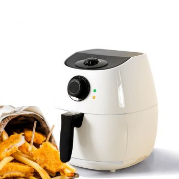 Spector 4L Air Fryer Healthy Cooker Low Oil Rapid Deep Frying Kitchen Oven in White