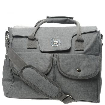 Nappy Bags in Stone Grey