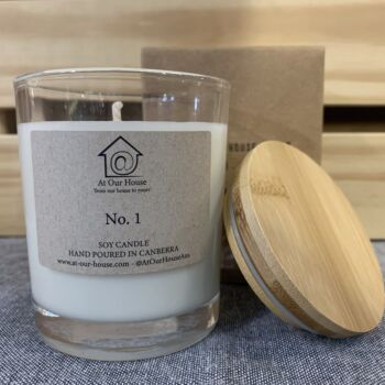 No. 1 Soy Candle