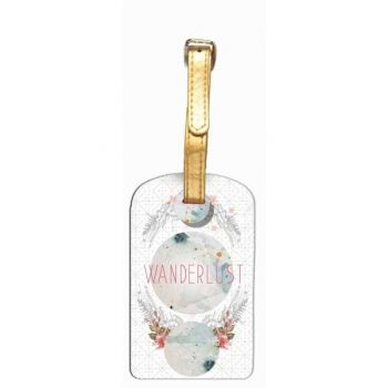 Luggage Tag-Wanderlust