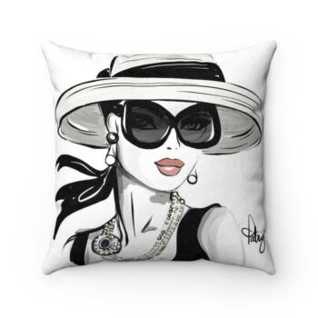 Faux Suede Cushion Collection - Audrey