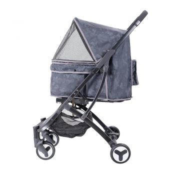 Ibiyaya Speedy Fold Pet Buggy for Cats & Dogs up to 20kg - Camouflage