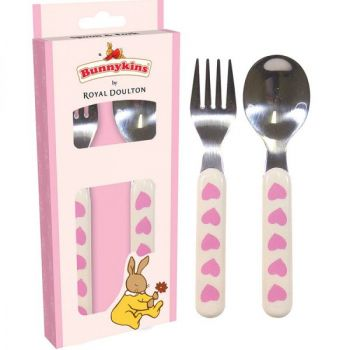Bunnykins Spoon & Fork - Sweethearts