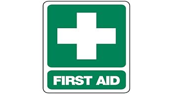 First Aid Sign 300 x 225mm