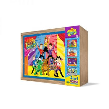 The Wiggles® 4 in 1 Wooden Puzzle