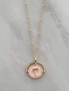 The Costa Rica Pendant - Pink