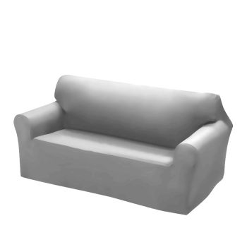 Easy Fit Stretch Couch Sofa Slipcovers 2 Seater in Grey