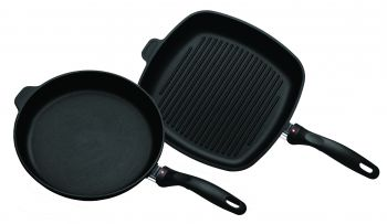 XD Induction 2 Piece Set: Fry Pan and Grill Pan (6428i, 63281i)