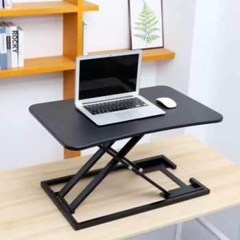 Standing Desk with Height Adjustable Large Stand Up Desk Converter Ergonomic Tabletop Workstation