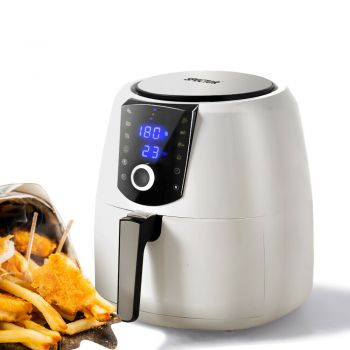 Spector 7L Air Fryer LCD Healthy Cooker Low Fat OilFree Kitchen Oven 1800W White