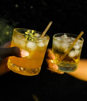 Sugarcane straws - Cocktail size (unwrapped paper) Length 125 x diameter 6 mm, pack of 5,000 straws