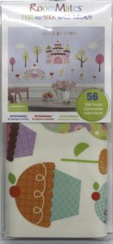ROOMMATES Happi Cupcake Land Wall Stickers