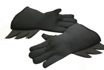 Batman Gloves - Black