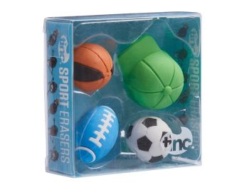 Scented Sports Erasers