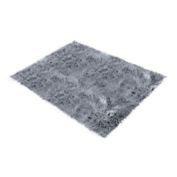 Shaggy and Soft Fur Carpet Floor Rug Mats 60x120cms in Dark Grey