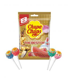 Chupa Chups Best of Lollipops 96g x 9