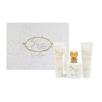 Jessica Fancy 4 Piece by JESSICA SIMPSON for Women (100ML) -GIFT SET