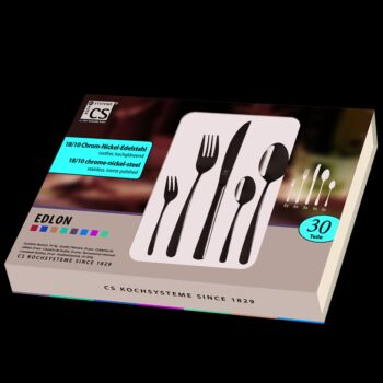 Edlon 30Pcs Cutlery Sets Stainless Steel