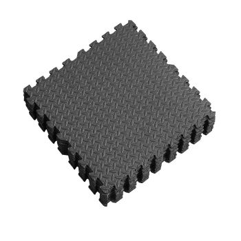 EVA Heavy Duty Interlocking Floor Mats for Kids Playroom 12 Pcs