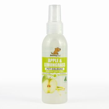 Smiley Dog Apple & Lemongrass Pet Cologne 125ml