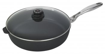 "XD saute' Pan w/ Lid and SS Handle - 5.8 Qt. (12.5"")"
