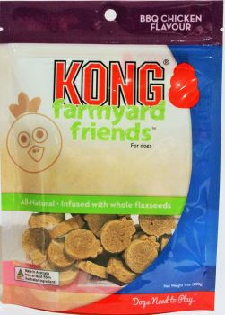 KONG FARMYARD FRIEND CHICKEN TREAT 200G XFY3