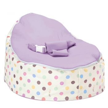 Chibebe Sprinkles Baby Bean Bag - Grape