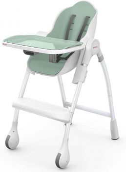 Oribel Cocoon High Chair Dining For Infant Toddler in Pistachio Colour