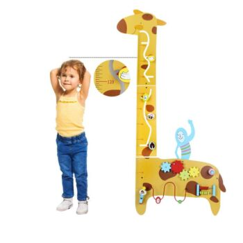 Kids Height Measurement Growth Chart Ruler with Wall Games & Interactive Toys
