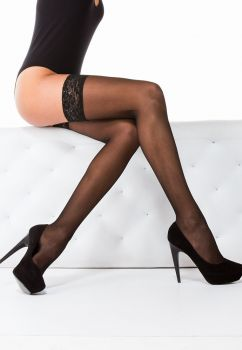 Hosiery Basic 20 Lace Stay Up