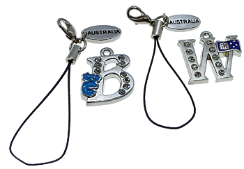 Australia Handmade Collection Letter Charms