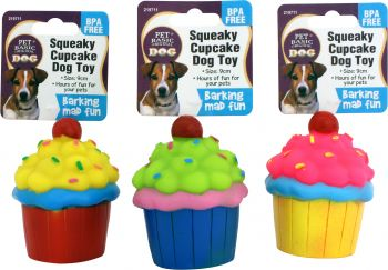 Dog Toy Cupcake 9cm