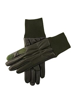 Women's Fleece Lined Right Hand Leather Shooting Gloves