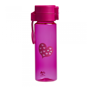 Pink Flip and Clip Water Bottle