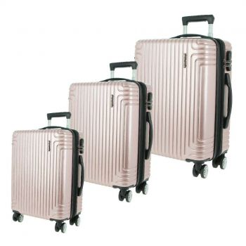 Pierre Cardin Hard Luggage - SET OF 3 (PC3168)
