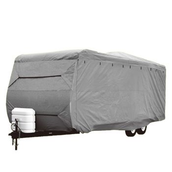 Heavy Duty 20-22 ft 4 Layer Caravan Campervan Cover UV Waterproof Carry bag