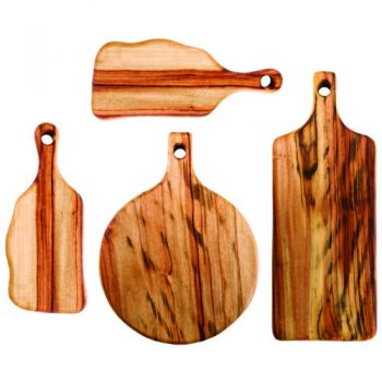 Fab Slabs - Antibacterial Wooden Cutting Boards and Grazing Platters - Model FS-PACK 02