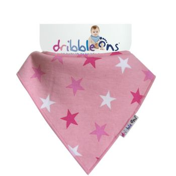 DRIBBLE ONS Pink Star