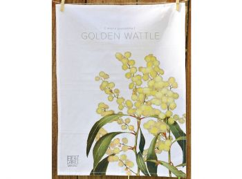 Bella Flora Tea Towels - Wattle