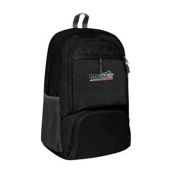 25L Waterproof FoldableTravel Backpack for Camping in Black