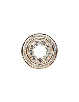 Barcs Australia Dual Women's Rose Gold Plated Brooch And Scarf Ring