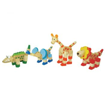 Flexi Jungle Animal 8pcs/inner