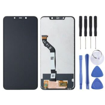 Xiaomi Pocofone F1 LCD Display + Touch Screen Digitizer with Frame Assembly Black