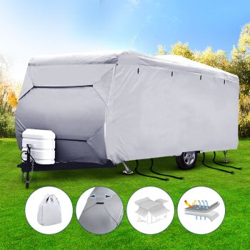 Weisshorn 2022ft Caravan Cover Campervan 4 Layer Heavy Duty UV Carry bag Covers