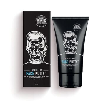 BarberPro Face Putty - Men's Peel-Off Mask with Activated Charcoal (40ml)